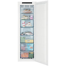 Buy John Lewis JLBIFIC05 Tall Integrated No Frost Freezer, A+ Energy Rating, 54cm Wide Online at johnlewis.com