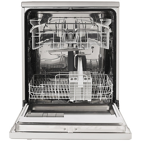 Buy John Lewis JLDWS1207 Dishwasher, Stainless Steel Online at johnlewis.com