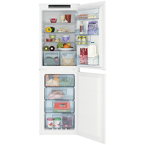 Buy John Lewis JLBIFF1808 Integrated Fridge Freezer, A+ Energy Rating, 54cm Wide Online at johnlewis.com