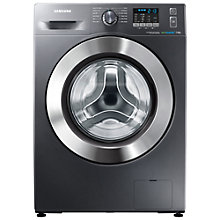 Buy Samsung WF70F5E2W2X ecobubble™ Washing Machine, 7kg Load, A+++ Energy Rating, 1200rpm Spin, Graphite Online at johnlewis.com