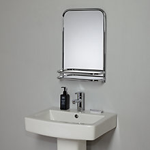 Buy John Lewis Restoration Bathroom Wall Mirror with Shelf Online at johnlewis.com