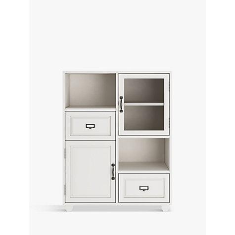 Buy john lewis apothecary double towel cupboard john lewis for Bathroom cabinets john lewis uk