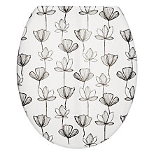 Buy John Lewis Gingko Flowers Toilet Seat Online at johnlewis.com