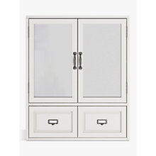 Buy John Lewis Apothecary Double Mirrored Cabinet Online at johnlewis.com