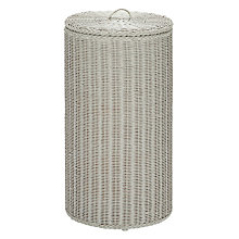 Buy John Lewis Croft Collection Twisted Loom Round Laundry Basket Online at johnlewis.com