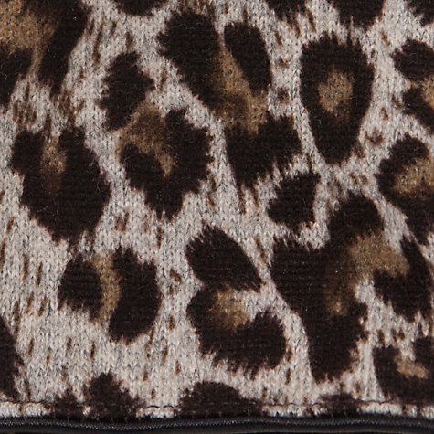 Buy John Lewis Leopard Print Jersey Gloves, Animal Print Online at johnlewis.com