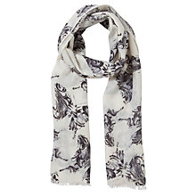 Buy Lola Rose Heritage Butterfly Print Scarf, Grey Online at johnlewis.com