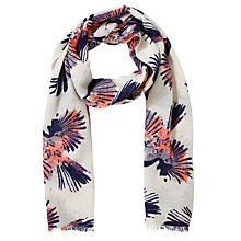 Buy Lola Rose Printed Bird Scarf, Multi Online at johnlewis.com