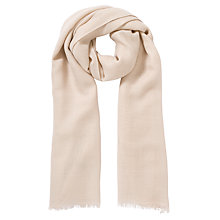 Buy John Lewis Wool Mix Scarf, Pink Online at johnlewis.com