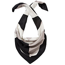 Buy John Lewis Circle Silk Square Scarf, Multi Online at johnlewis.com