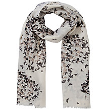 Buy Lola Rose Boxed Wool Confetti Heart Scarf, Taupe Online at johnlewis.com