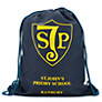 St John's Priory Unisex PE Bag, Navy Blue