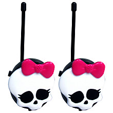 Buy Monster High Walkie Talkies Online at johnlewis.com