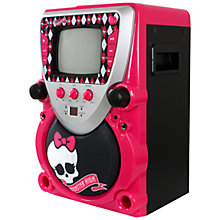 Buy Monster High CD+G Karaoke System Online at johnlewis.com