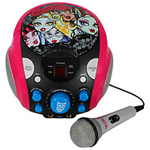 Buy Monster High Portable Karaoke Online at johnlewis.com