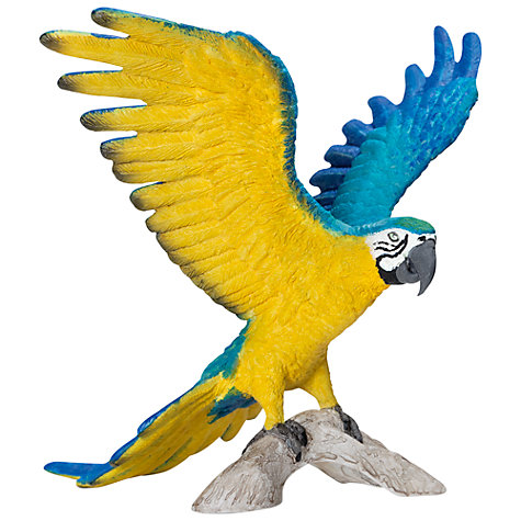 Buy Schleich Wild Animals: Macaw Parrot Online at johnlewis.com