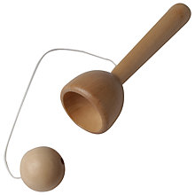 Buy House of Marbles Wooden Cup and Ball Online at johnlewis.com
