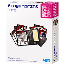 Buy Science Museum Fingerprint Kit Online at johnlewis.com