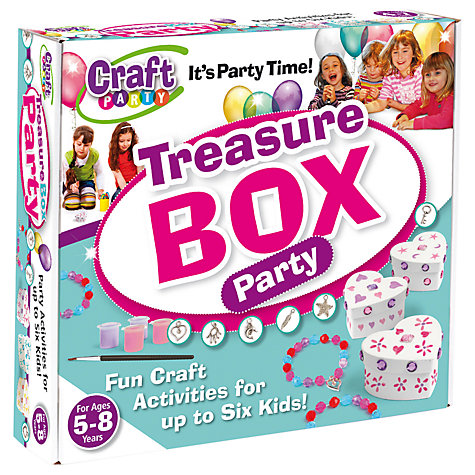 Buy Craft Party Treasure Box Party Online at johnlewis.com