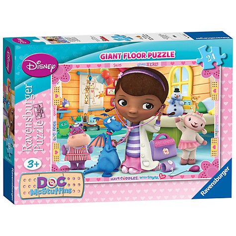 Buy Disney Giant Floor Puzzle, Doc McStuffins, 24 Pieces Online at johnlewis.com