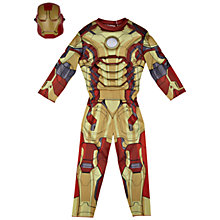 Buy Iron Man Costume Online at johnlewis.com