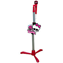 Buy Monster High Microphone and Stand Online at johnlewis.com
