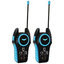 Buy Batman Walkie Talkies Online at johnlewis.com