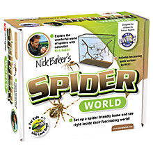 Buy My Living World - Nick Baker's Spider World Online at johnlewis.com