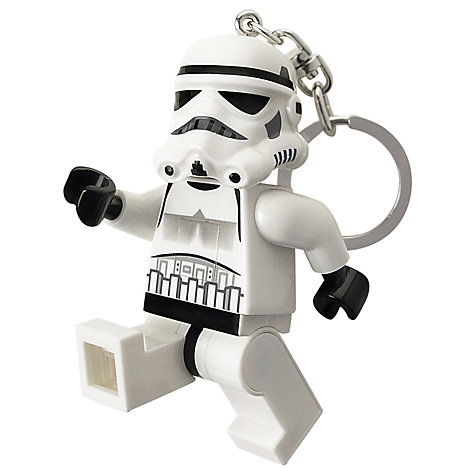 Buy LEGO Star Wars Key Ring with Light, Stormtrooper Online at johnlewis.com