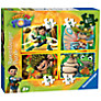 Tree Fu Tom 4-in-a-Box Puzzle, 72 Pieces