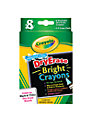 Crayola DryErase Bright Crayons, Pack of 8