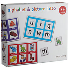 Buy John Lewis Alphabet and Picture Matching Game Online at johnlewis.com
