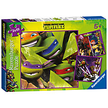 Buy Teenage Mutant Ninja Turtles 3-in-1 Puzzle, 147 Pieces Online at johnlewis.com