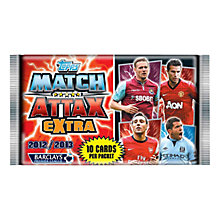 Buy Match Attax Extra Trading Card Booster Pack, 2013 Online at johnlewis.com