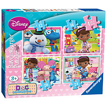 Buy Ravensburger Disney Doc McStuffins Jigsaw Puzzles, Box of 4 Online at johnlewis.com