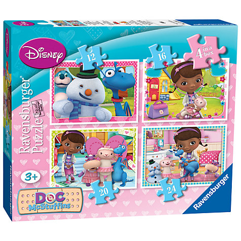 Buy Disney 4-in-a-Box Puzzle, Doc McStuffins, 72 Pieces Online at johnlewis.com