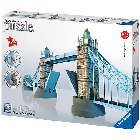 Buy Ravensburger 3D Puzzle, Tower Bridge Online at johnlewis.com