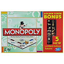 Buy Monopoly Golden Token Bonus Game Online at johnlewis.com