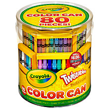 Buy Crayola Twistables Colour Can Online at johnlewis.com