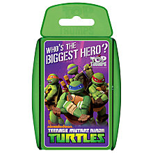 Buy Top Trumps Cards, Teenage Mutant Ninja Turtles Online at johnlewis.com