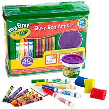 Buy Crayola My First Busy Bag Online at johnlewis.com