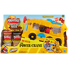 Buy Play-Doh Diggin' Rigs, Buster the Power Crane Online at johnlewis.com