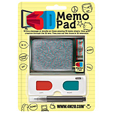 Buy 3D Memo Pad Online at johnlewis.com