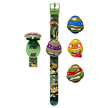Buy Teenage Mutant Ninja Turtles Watch, Green Online at johnlewis.com