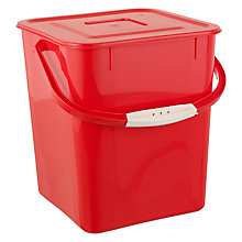 Buy John Lewis Kitchen Tidy Bin, 10L Online at johnlewis.com