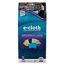 Buy E-Cloth Cleaning Cloths, Set of 8 Online at johnlewis.com