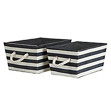 Buy John Lewis New England Storage Baskets, Set of 2 Online at johnlewis.com