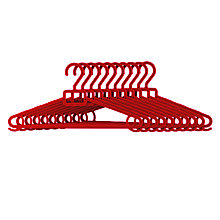 Buy John Lewis Polypropylene Hangers, Pack of 10 Online at johnlewis.com