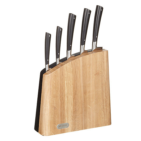 Buy John Lewis Balance Knife Set and Block, 5 Pieces Online at johnlewis.com