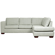 Buy John Lewis Felix RHF Chaise Corner Sofa with Light Legs Online at johnlewis.com